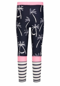 midnight palm leggings