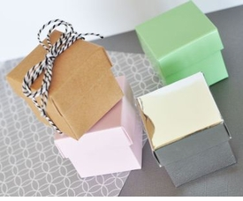 mini cube boxes (set of 12)