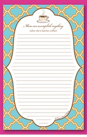 mom's coffee note pad  - SOLD OUT