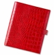 momagenda personal portfolio crocodile - crimson (OUT OF STOCK)