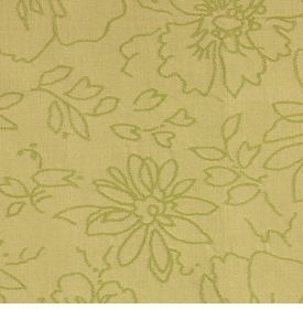 monet/lemon grass fabric
