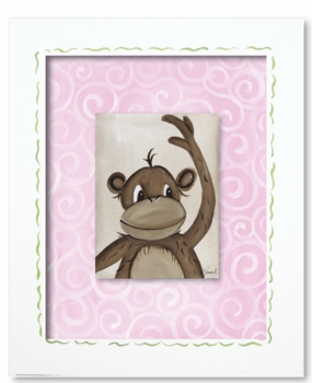 monkey framed canvas reproduction  wall art - SOLD OUT