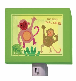 monkey mayhem nightlight