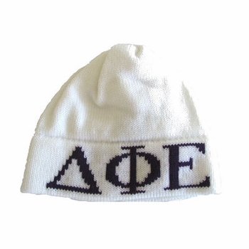 monogram greek hat