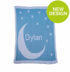 Moon & Stars Name Blanket