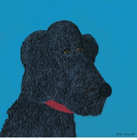 musette poodle wall art