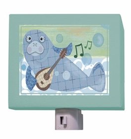 musical manatee nightlight