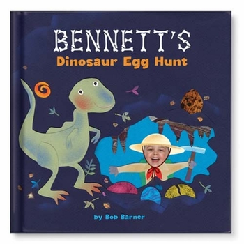 my dinosaur egg hunt personalized book