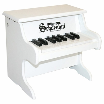 my first toy piano (18 key)