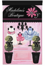 my little boutique haute sorbet personalized wall hanging