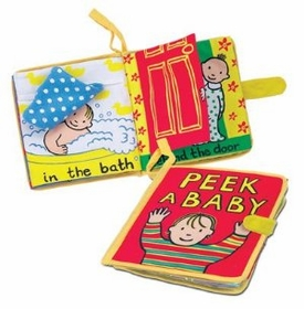 my peek-a-baby book by jelly cat