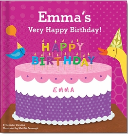 my very happy birthday book (girl)