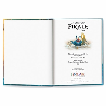 my very own pirate tale book personalized children's book