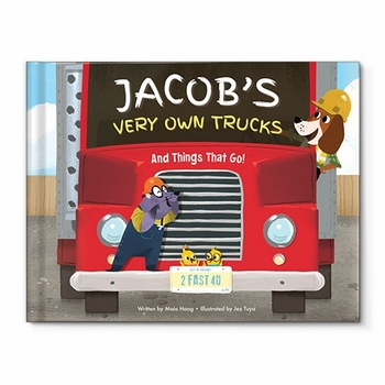 my very own truck personalized book