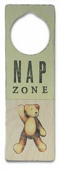 Nap Zone Door Sign - SOLD OUT