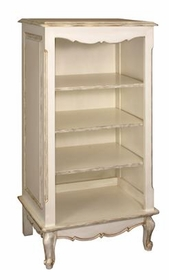 narrow french bookcase