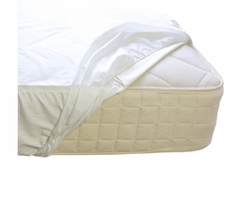 Naturepedic Organic Waterproof Fitted Protector Pad - Twin through King