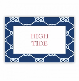 Nautical Knot Navy Disposable Placemat