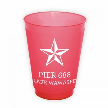 Nautical Star Cups