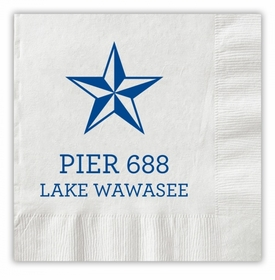 Nautical Star Napkins