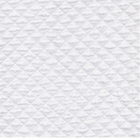 new quilted white (grade c)