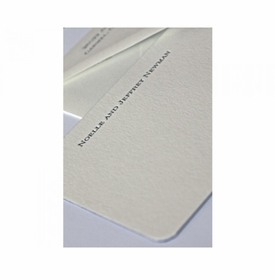 newman social stationery