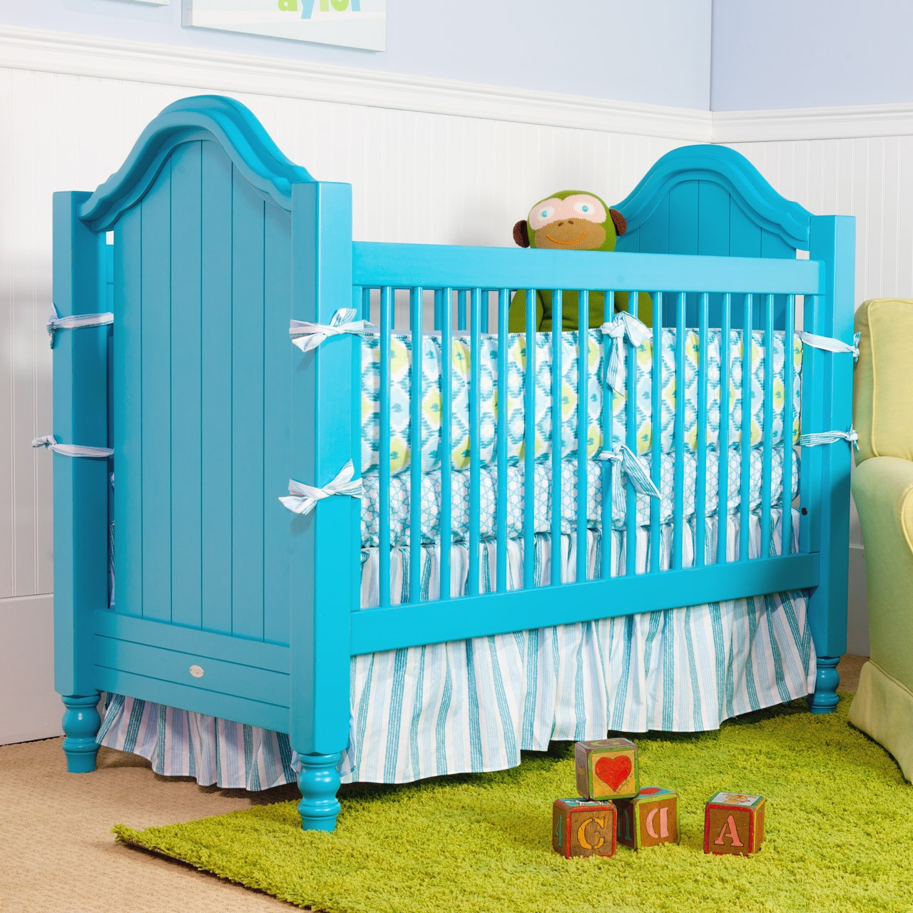 yellow crib projects s girl millies painted and zeal nursery teal project cribs room view millie