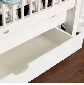newport cottages crib storage drawer