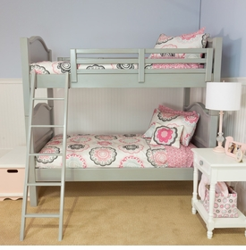 newport cottages hampton bunk bed - 2 twins