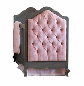newport cottages hilary crib with tufted panels