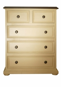 newport cottages taylor 5 drawer chest