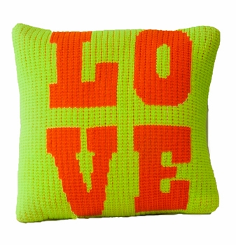 non-personalized pillow with love