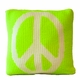 non-personalized pillow with peace