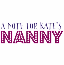 note for nanny note pad