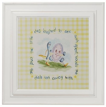 nursery rhyme print (dish and spoon)