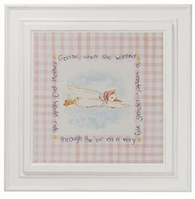 nursery rhyme print ( mother goose)