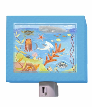 ocean world nightlight