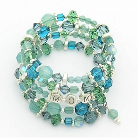 ocean wrap mother's bracelet