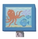 octopus & fish nightlight