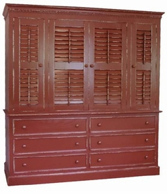 old point armoire