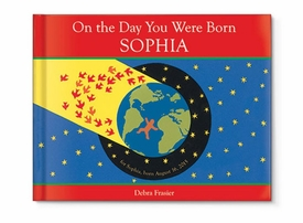 on the day you were born personalized story book
