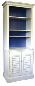 one piece bermuda bookcase
