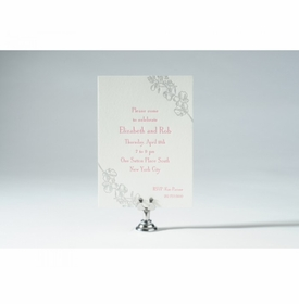 orchid engagement card