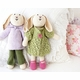 organic cotton knit cotton bunny