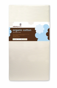organic cotton lightweight classic crib mattress