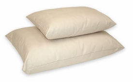 organic sateen pillow - toddler, queen or king size (machine wash)