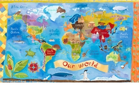 our world wall art