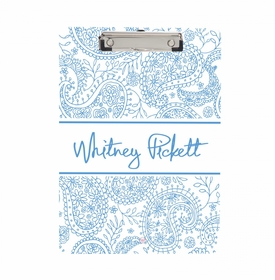Pacific Paisley Clipboard