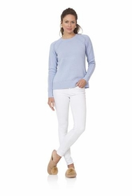 pale blue cozy for cashmere sweater