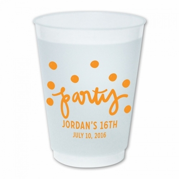 Party Dots Cups